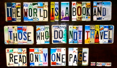 The World Is A Book And Those Who Do Not Travel Read Only One Page St Augustine