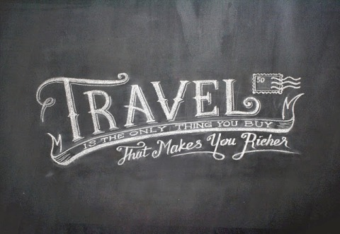 Travel is the one thing you buy that makes you richer..