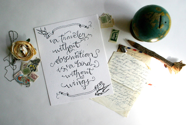 Travel-Quote-in-Calligraphy