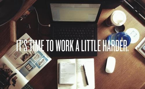 Image result for it's time to work more harder